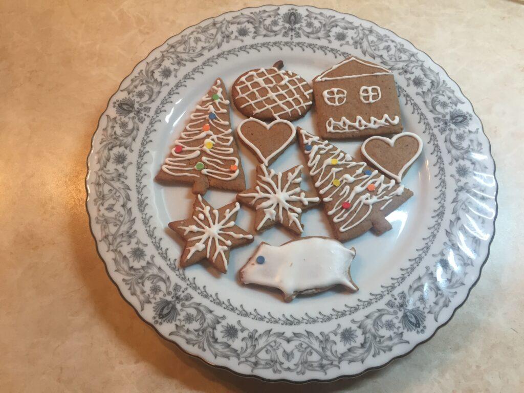 Имбирное печенье в глазури