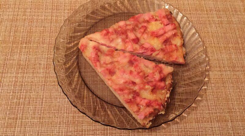 Пицца на дрожжевом тесте
