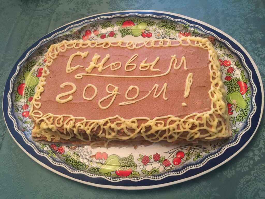 Торт королевский без муки