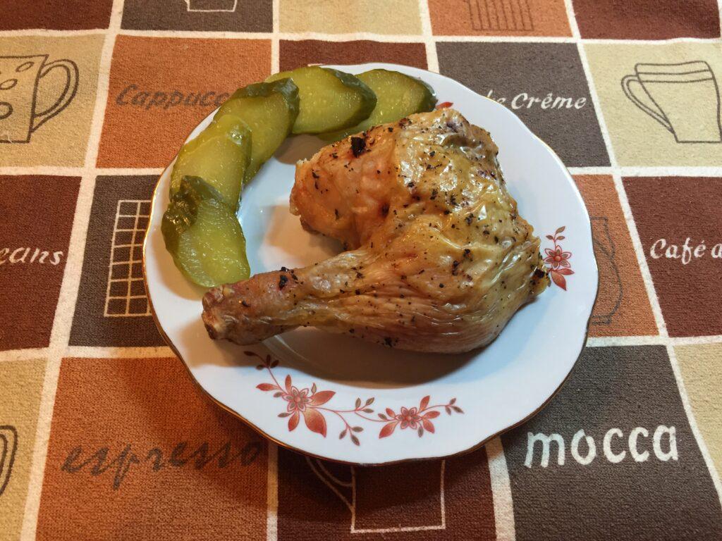 Курица запечённая в духовке