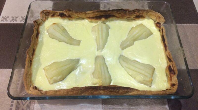 грушевый пирог по-нормандски