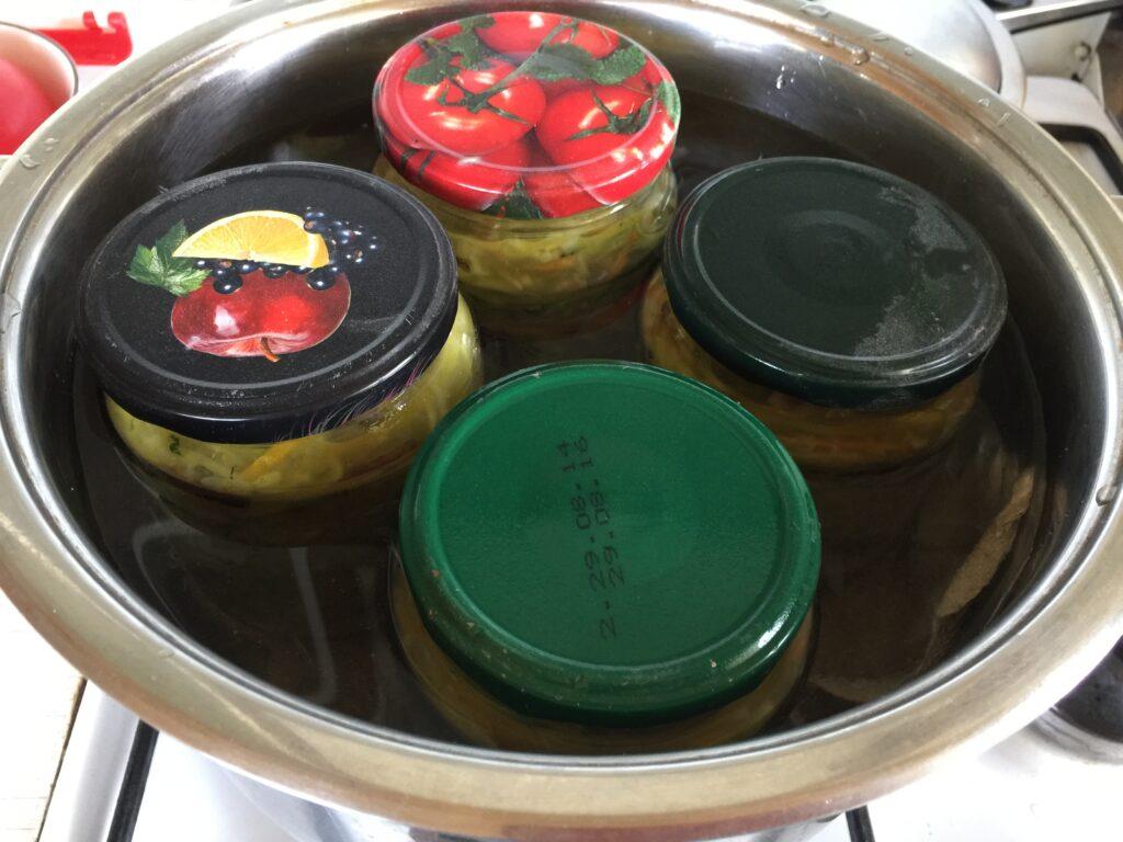 Кабачки по-корейски консервированные