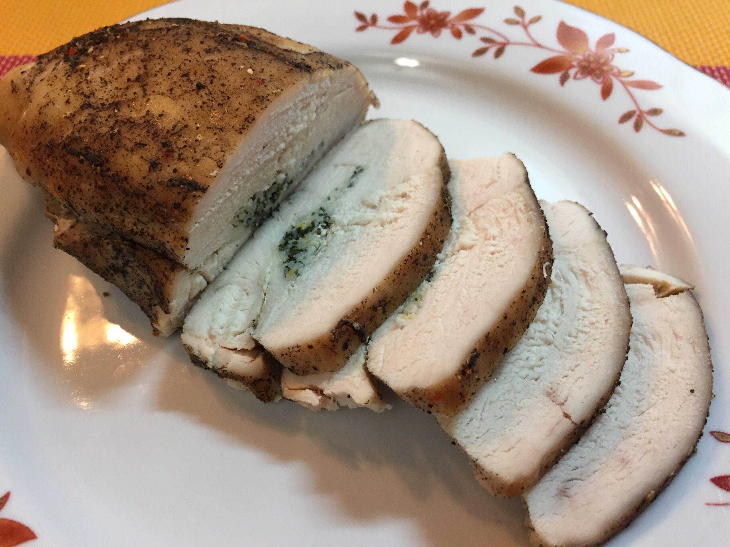 Куриное филе запечённое в фольге